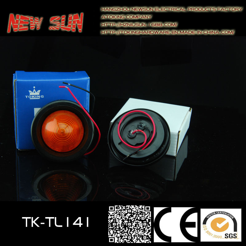 "2"" Round LED Truck Side Lamp Round"